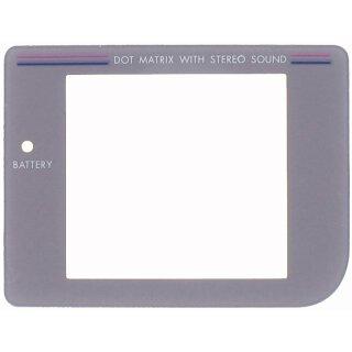 Nintendo Game Boy Classic - Grau Display / Front Scheibe / Ersatz / Austausch