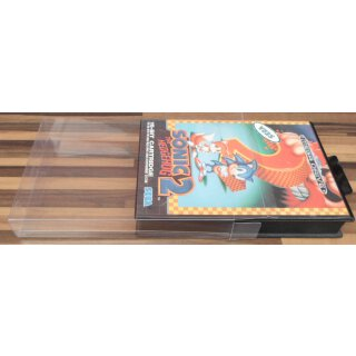 Klarsicht Schutz Hülle Sega Mega Drive / Master System MD MS OVP 0,3 mm Dünn