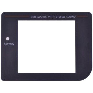 Nintendo Game Boy Classic - Schwarz Display / Front Scheibe / Ersatz Austausch