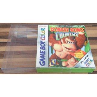 Klarsicht Schutz Hülle Gameboy Classic Color Advance Spiel OVP 0,3 mm Dünn