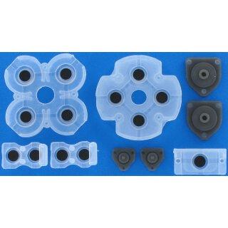 Tastengummis / Gummi Pads / Rubber / Reparatur Set für Playstation 4 / PS4 JDM-001 / JDM-011 / JDM-020