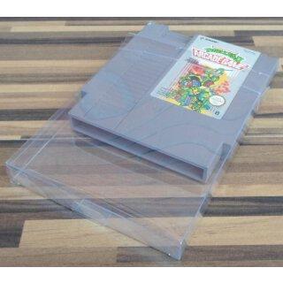 Klarsicht Schutz Hülle 0,3 mm Dünn für Nintendo NES Spiel Modul Cartridge