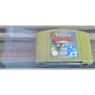 Klarsicht Schutz Hülle 0,3 mm Dünn Nintendo 64 / N64 Spiel Modul Cartridge
