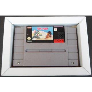 Inlay Pappinlay Innenkarton für Super Nintendo / SNES USA / NTSC Spiele OVP