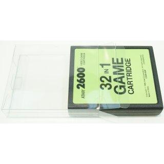 Klarsicht Schutz Hülle Atari 2600 / 7800 Spiel Modul 0,3 mm Dünn