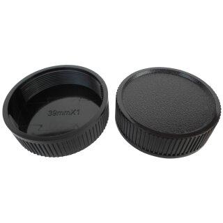 Objektiv Rückdeckel für M39 Schraub Gewinde Anschluss Rear Lens Cap Deckel