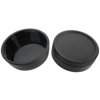 Objektiv Rückdeckel für Nikon F / AF / MF / AF-S Rear Lens Cap Deckel