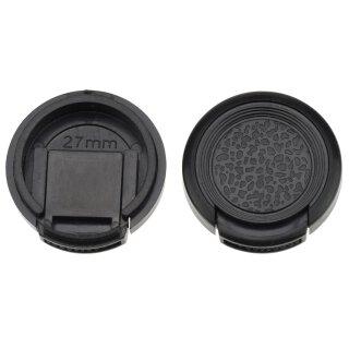 Objektivdeckel Ø 27 mm Objektivschutz Objektive und Kameras Lens Cap Kappe Schutz Deckel