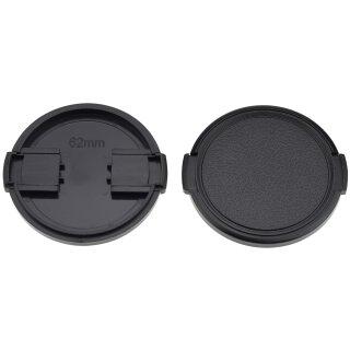 Objektivdeckel Ø 62 mm Objektivschutz Objektive und Kameras Lens Cap Kappe Schutz Deckel