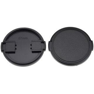 Objektivdeckel Ø 67 mm Objektivschutz Objektive und Kameras Lens Cap Kappe Schutz Deckel