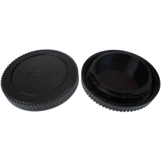 Kamera Bodydeckel für Micro 4/3 Fourthirds Gehäusedeckel Body Cap Deckel Body