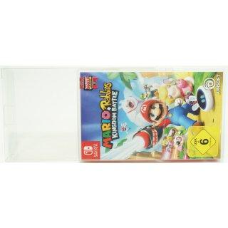 Klarsicht Schutz Hülle Nintendo Switch Spiel Verpackung OVP 0,5 mm Dünn