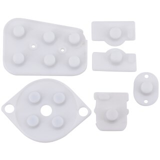 Tastengummi / Gummi Pads / Rubber / Reparatur Set für Nintendo 64 / N64 Controller