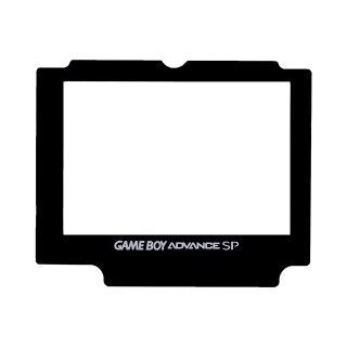 Nintendo Game Boy Advance SP - GBA SP Display Scheibe / Ersatz Austausch Screen